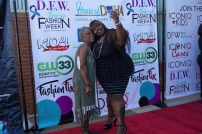 The Fashion Fold grabbing a selfie with Deidre Hardin: Designer/Owner of Copper Signatures